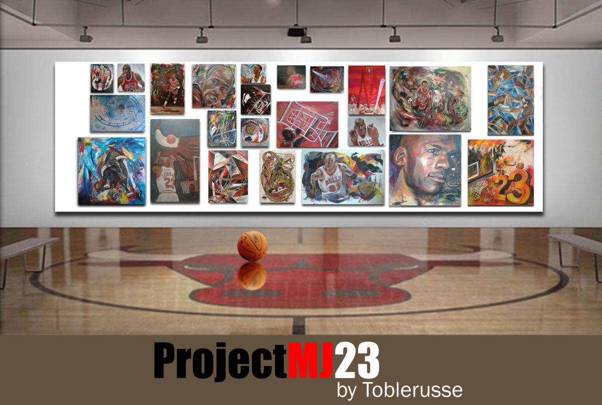 My Michael Jordan artbook is finally on Amazon.com!!! #ProjectMJ23